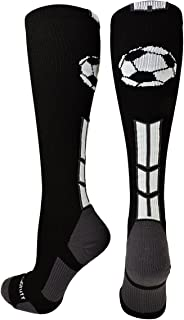 product image for MadSportsStuff Soccer Socks with Soccer Ball Logo Over The Calf (Multiple Colors)
