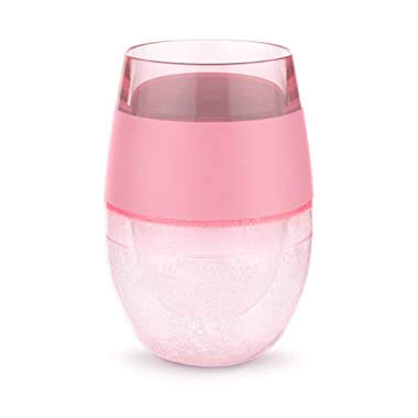 Host 7419 Wine FREEZE Cooling Cup, Translucent Pink, 1 Cup