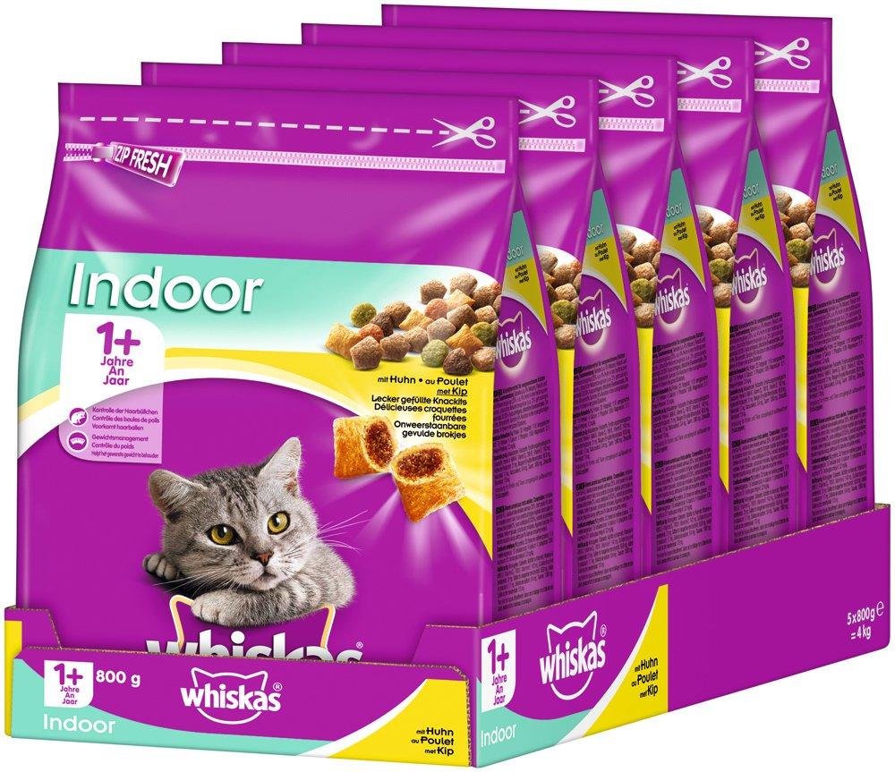 whiskas - Comida para Gato, alimento seco para Gatos Adultos ...