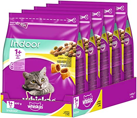 whiskas - Comida para Gato, alimento seco para Gatos Adultos