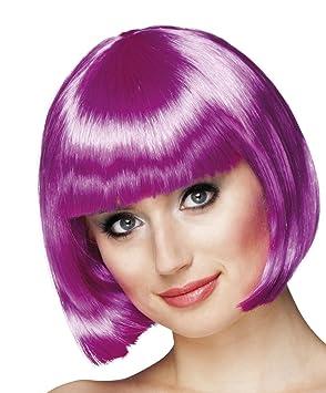 Boland - Peluca de Cabaret - Modelo tipo casquete One Size violeta