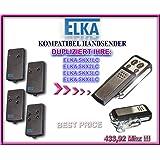 klone fernbedienung 4-kanal 433,92Mhz fixed code ELKA SKJ MINI kompatibel handsender Top Qualit/ät Kopierger/ät!!!