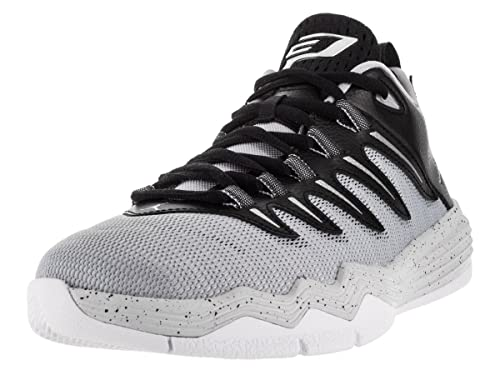 5941f8f822c Nike Jordan Kids Jordan CP3.IX Blck Mtllc Slvr Elf Gry Pr Plt Basketball  Shoe 5.5 Kids US  Amazon.co.uk  Shoes   Bags