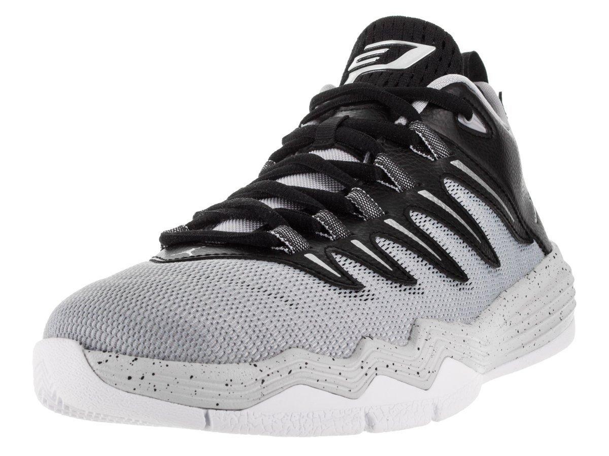 Jordan Nike Kids CP3.IX Blck/Mtllc Slvr/Elf Gry/PR PLT Basketball Shoe 5.5 Kids US