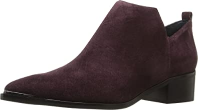 Marc Fisher LTD Women's Yamir Burgundy Suede Shoe
