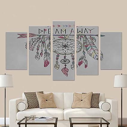 Amazon.com: InterestPrint Dream Catcher Native American Modern Home ...
