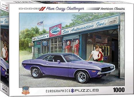 Amazon Com Eurographics Plum Crazy Challenger By Greg Giordano 1000