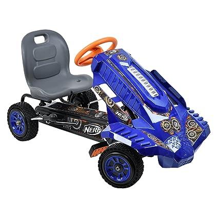 amazon com hauck nerf striker go kart ride on toys games