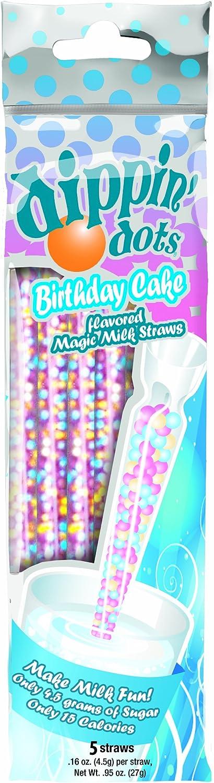 Pleasing Magic Straws Dippin Dots Flavored Straws Birthday Cake Amazon Funny Birthday Cards Online Kookostrdamsfinfo