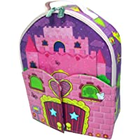 Neat-Oh! ZipBin Princess 40 Doll Bring Along Doll House Backpack w/ 1 Doll