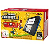 Nintendo 2DS - portable game consoles (Nintendo 2DS, Black, LCD, Mario Bros.2, SD, SDHC)