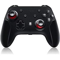 Genrics Mando inalámbrico PC Wireless Controller y Joystick Gamepad USB con Doble vibración y Turbo, Compatible con PC…