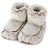 Warmies Womens/Ladies Microwavable Boot Slippers, 90 Seconds Warm Up in One Free Size of AUS: 5-9, Various Colours