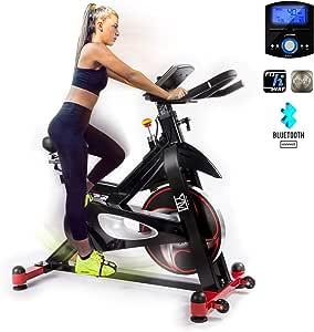 Bicicleta de spinning, bicicleta magnética YM Cardio, para ...