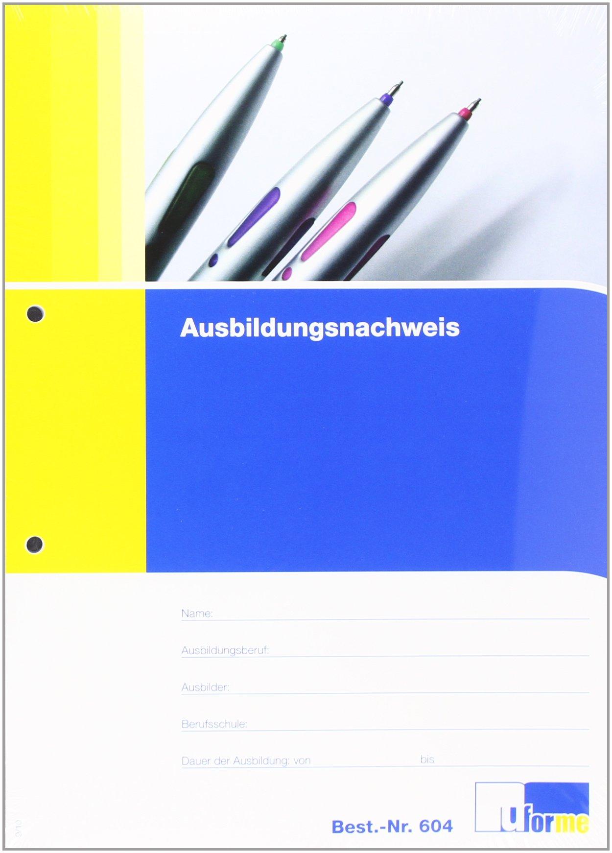 Ausbildungsnachweis 9783882346046 Amazoncom Books