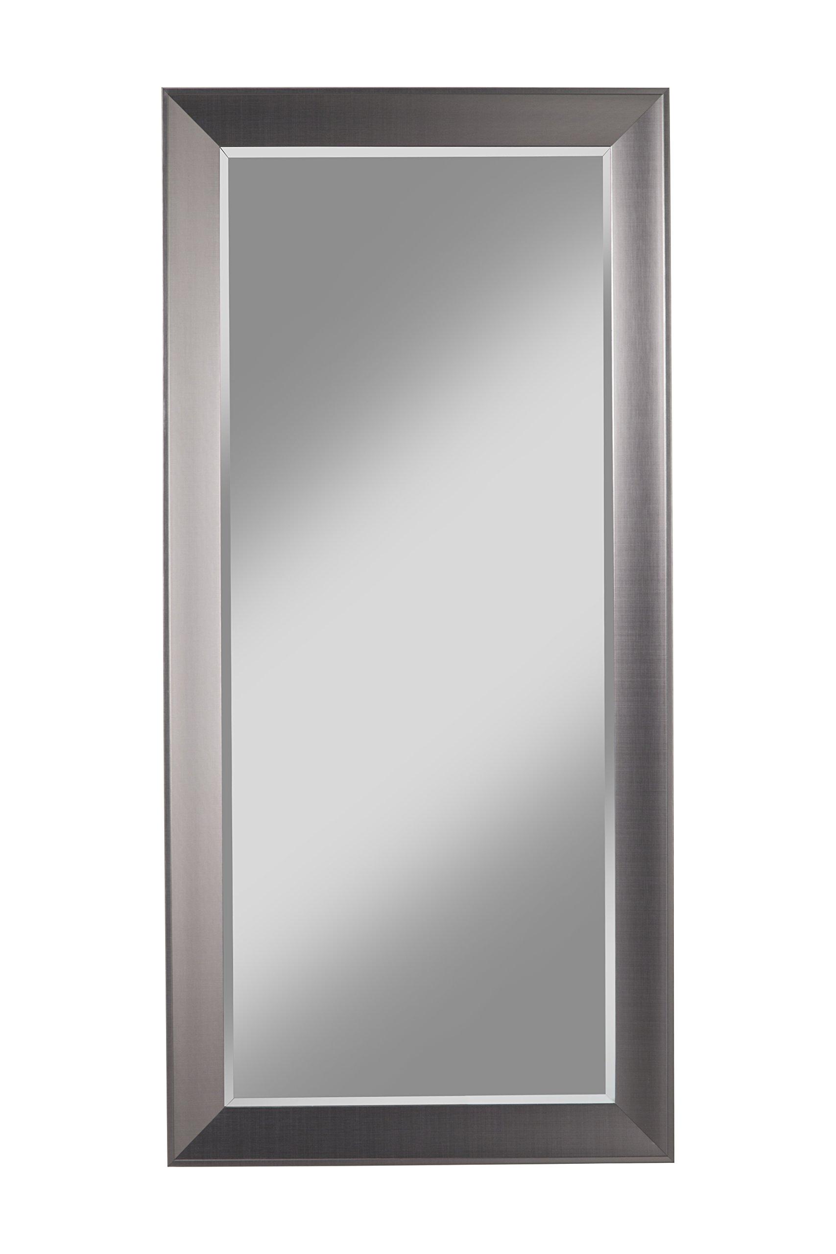Sandberg Furniture 15311 Contemporary Silver Full Length Leaner Mirror by Sandberg Furniture