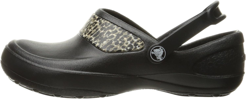 Crocs Womens Mercy Work Clog Mules