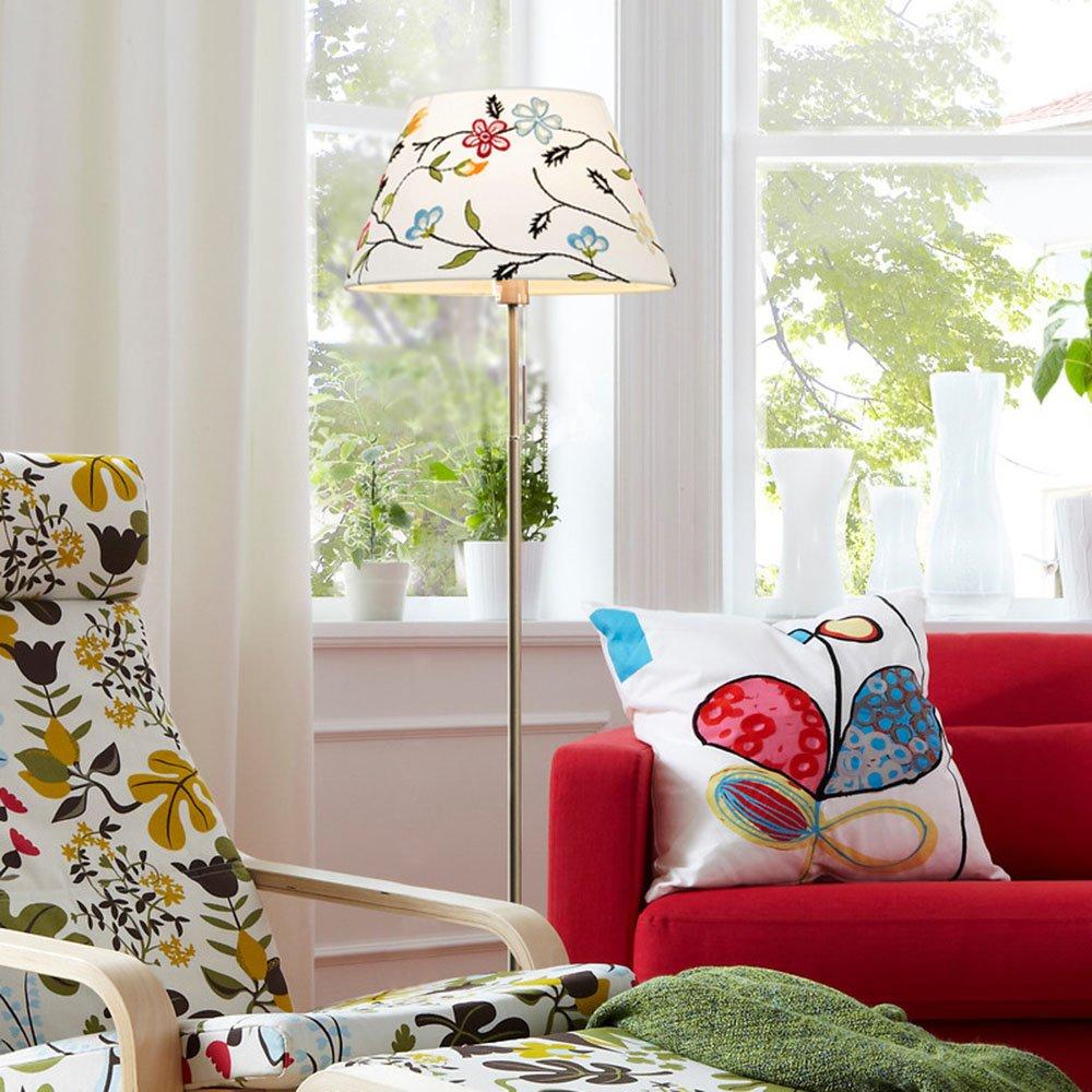 Im europäischen Stil Stehlampe Serie Bügeleisen Stehleuchte Nordic kreative Einfachheit modernen Amerikaner Stehleuchte Wohnzimmer Schlafzimmer Studie Stehleuchte (Farbe wahlweise freigestellt) - Retro-Stehlampe ( farbe : B )