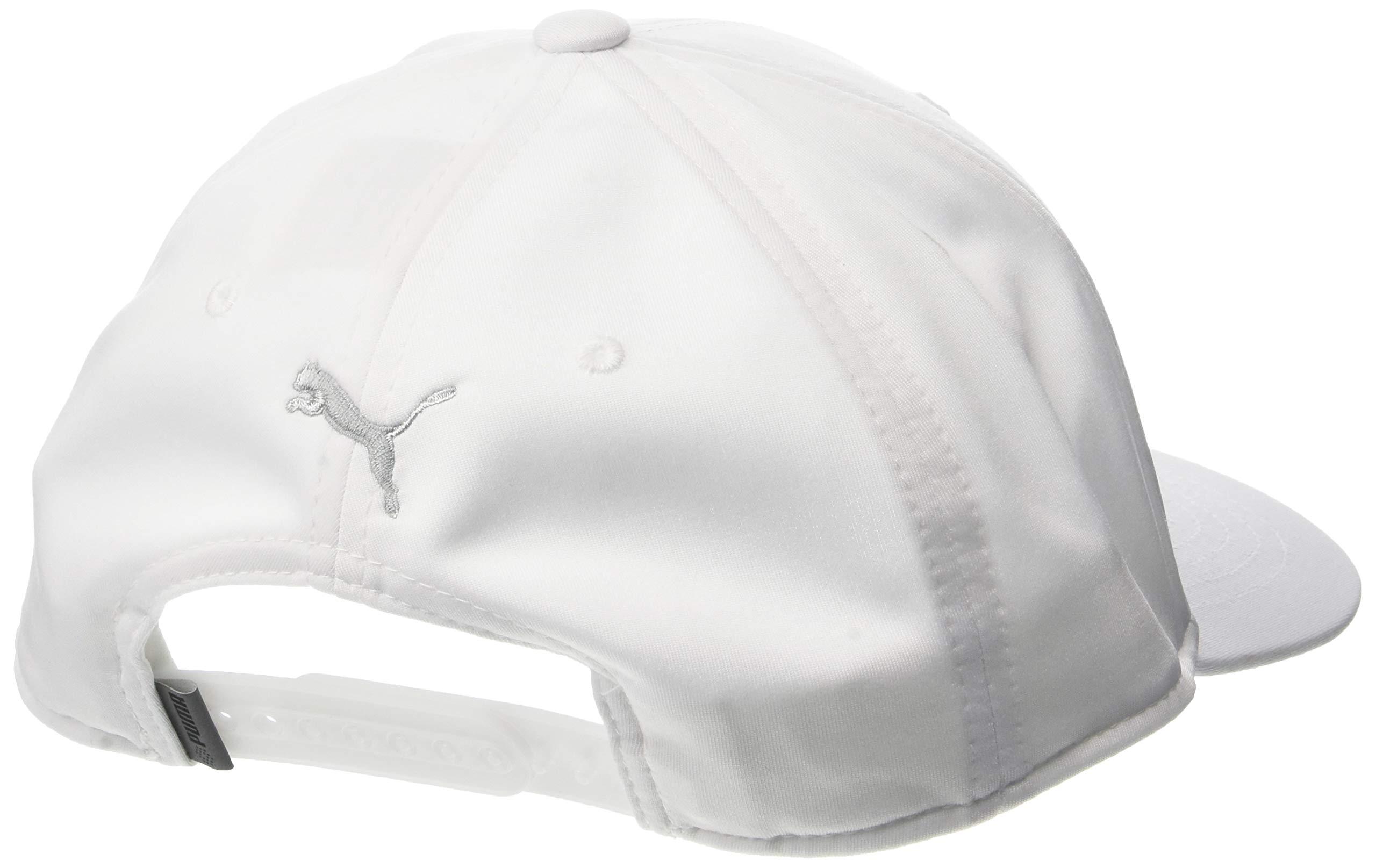 Puma Golf 2018 ''P'' Snapback Hat (Bright White Heather, One Size) Rickie Fowler P  Hat by PUMA (Image #2)