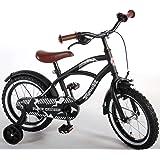 Vélo enfants 14 pouces roues de stabilisation noir