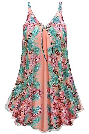 93f17ee5f66 Sanctuarie Designs Floral A-Line Plus Size Supersize Lined Sheer Top ...