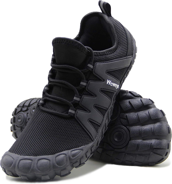 Amazon Com Weweya Barefoot Shoes Men Minimalist Running Cross Training Shoe Road Running