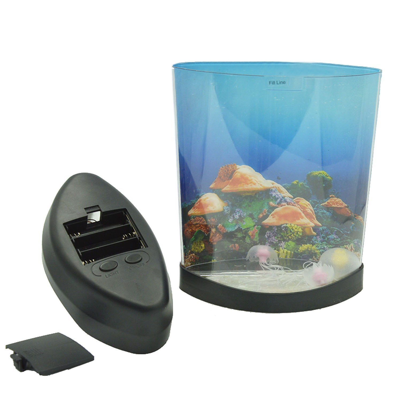 Amazon.com : Multi Color Changing Light LED Artificial Jellyfish Aquarium  Lighting Fish Tank Night Light Lamp : Pet Supplies