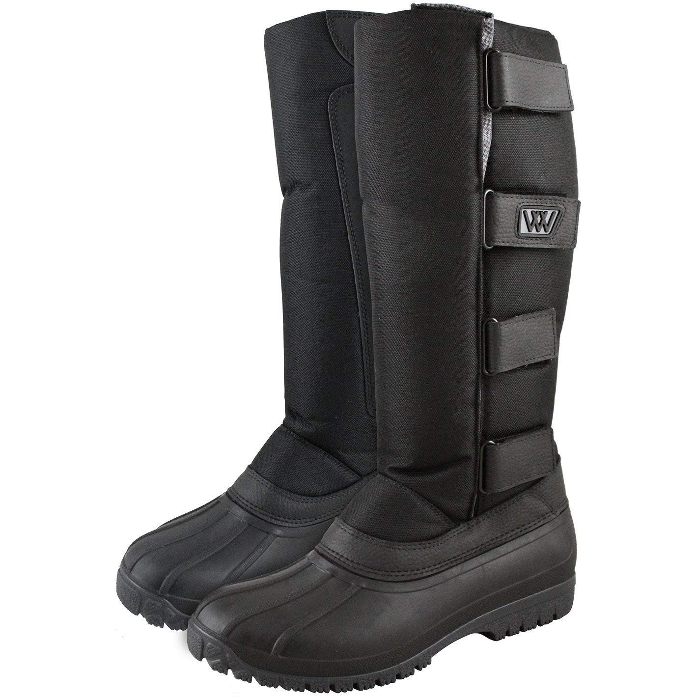 78fa45829c7 Woof Wear NEW Adult Long Yard Boots Black  Amazon.co.uk  Shoes   Bags