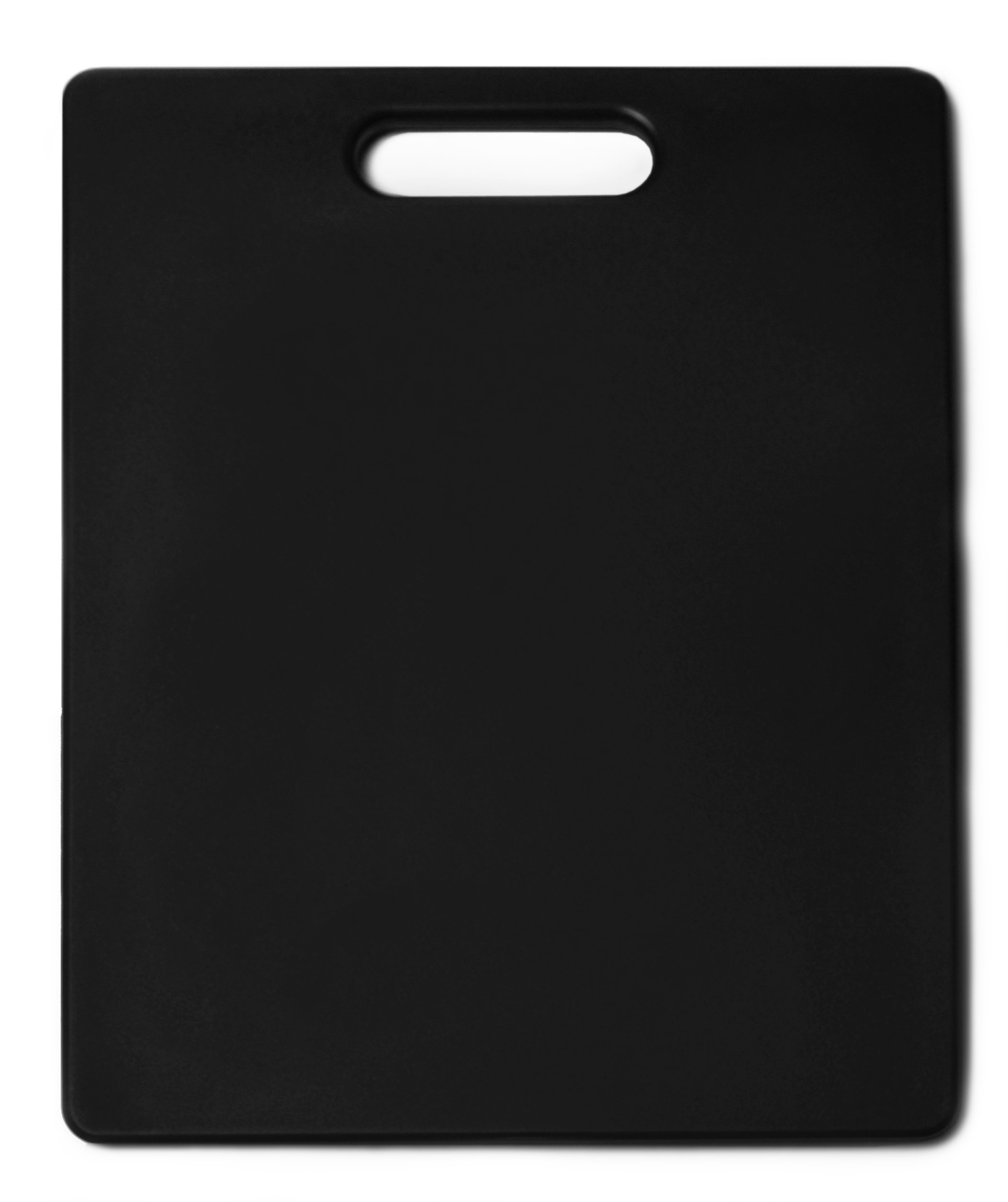 Architec Original Gripper Cutting Board, 11'' by 14'', Black, Patented Non-Slip Technology and Dishwasher Safe Cutting Board