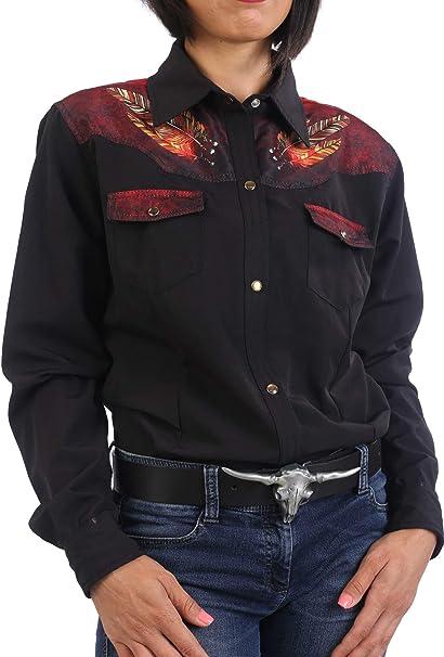 Last Rebels Country - Camisa para mujer, diseño indio largo