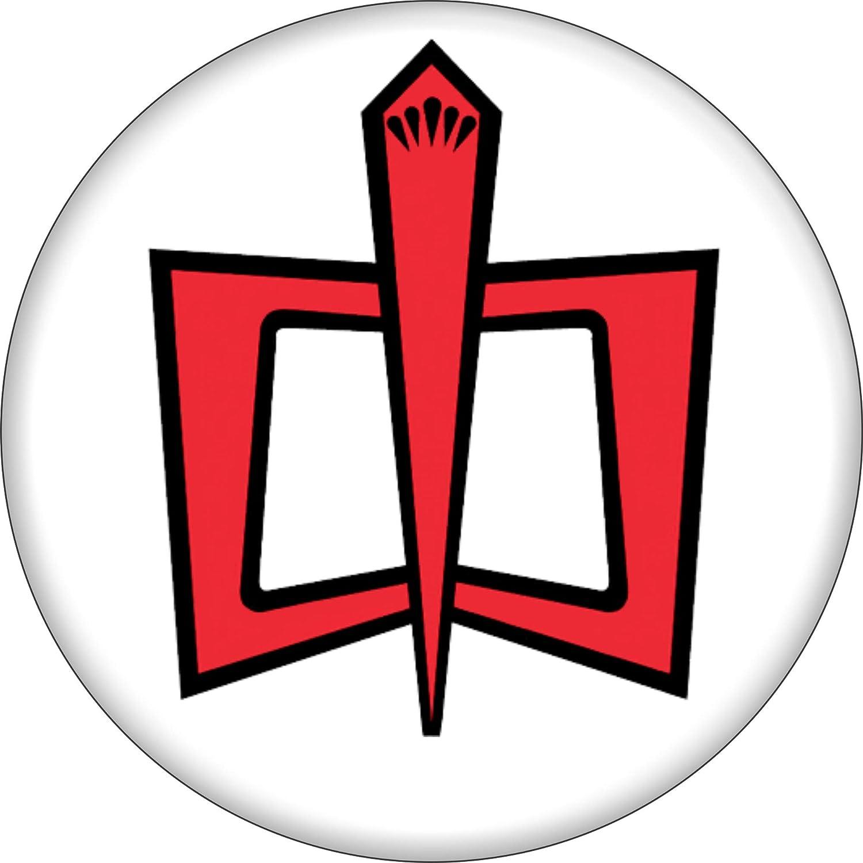 Greatest American Hero Logo On White 1 5 Round Button Clothing