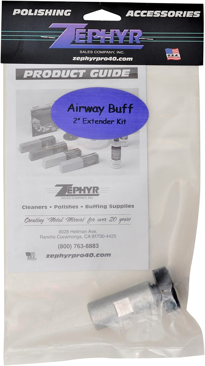Zephyr CFPREX 2 Airway Buff Extender Kit