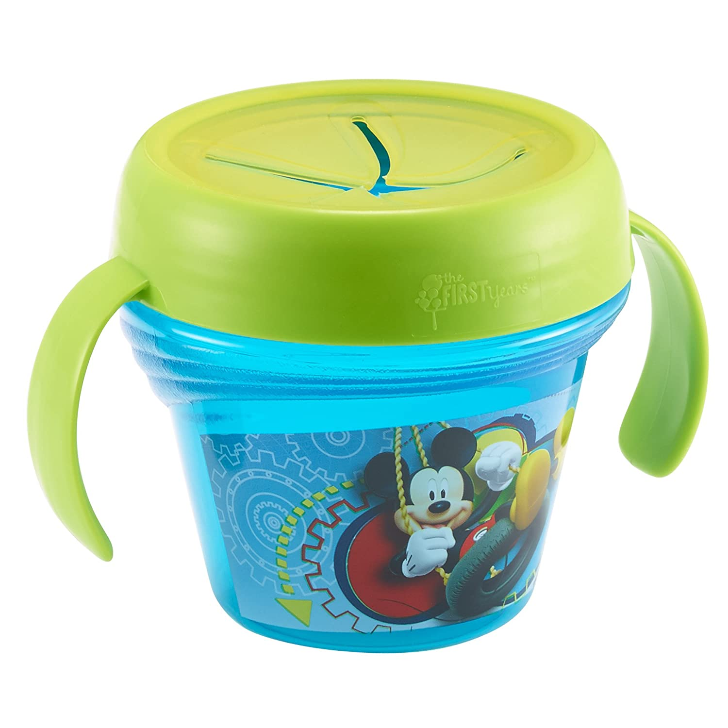 The First Years Baby Mickey Mouse Spill-Proof Snack Bowl