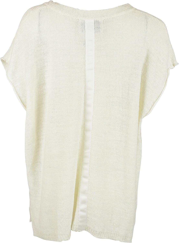 Brochu Walker Womens Jessica Vee SS Linen Tunic Sweater