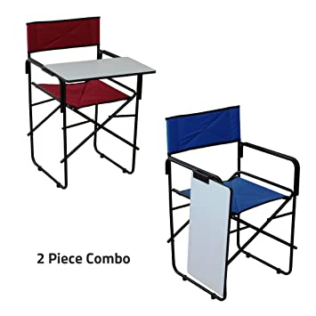 Spacecrafts Folding Study Chair with Writing pad (2 Pieces Combo)