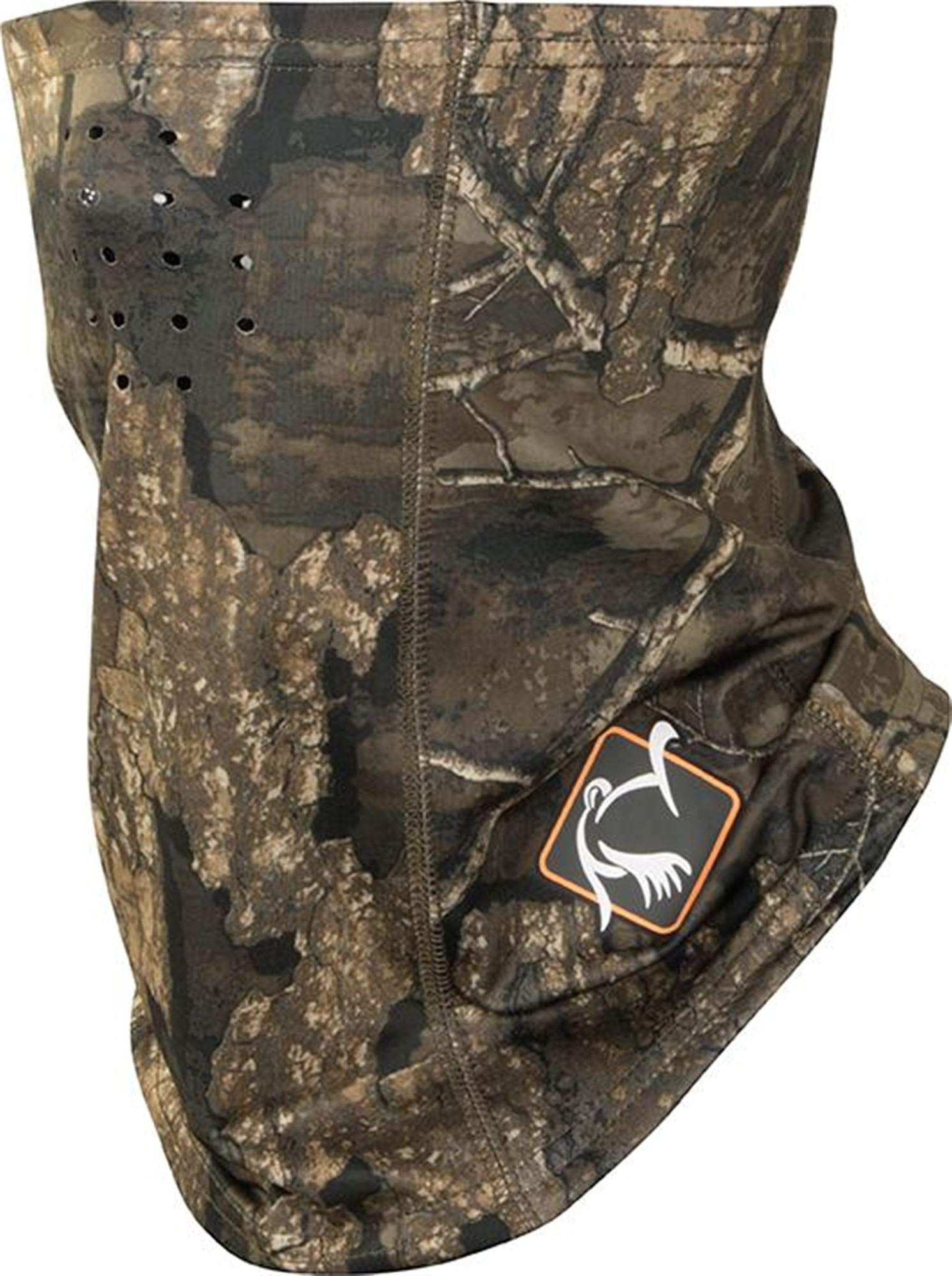 Ol' Tom Performance Buff Face Mask Realtree Timber