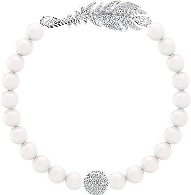 Swarovski Bracelet Nice Pearl, Métal Rhodié