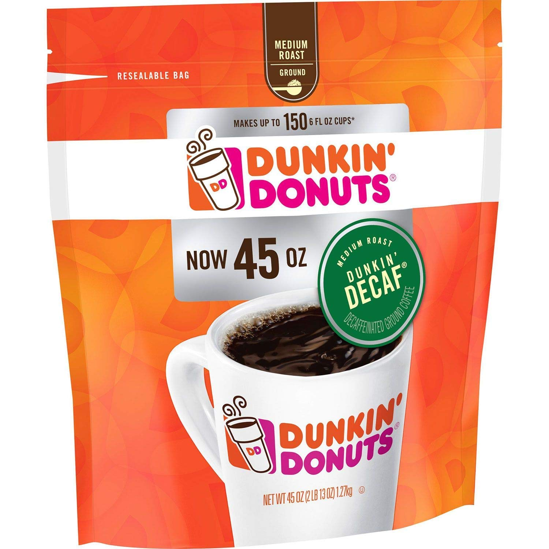 Dunkin' Donuts Original Blend Decaffeinated Ground Coffee