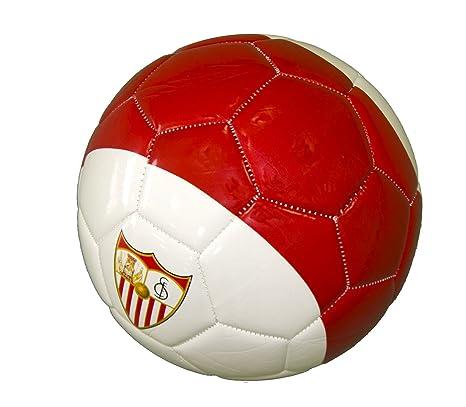 Sevilla CF Balsev Balón, Rojo/Blanco, 5: Amazon.es: Deportes y ...