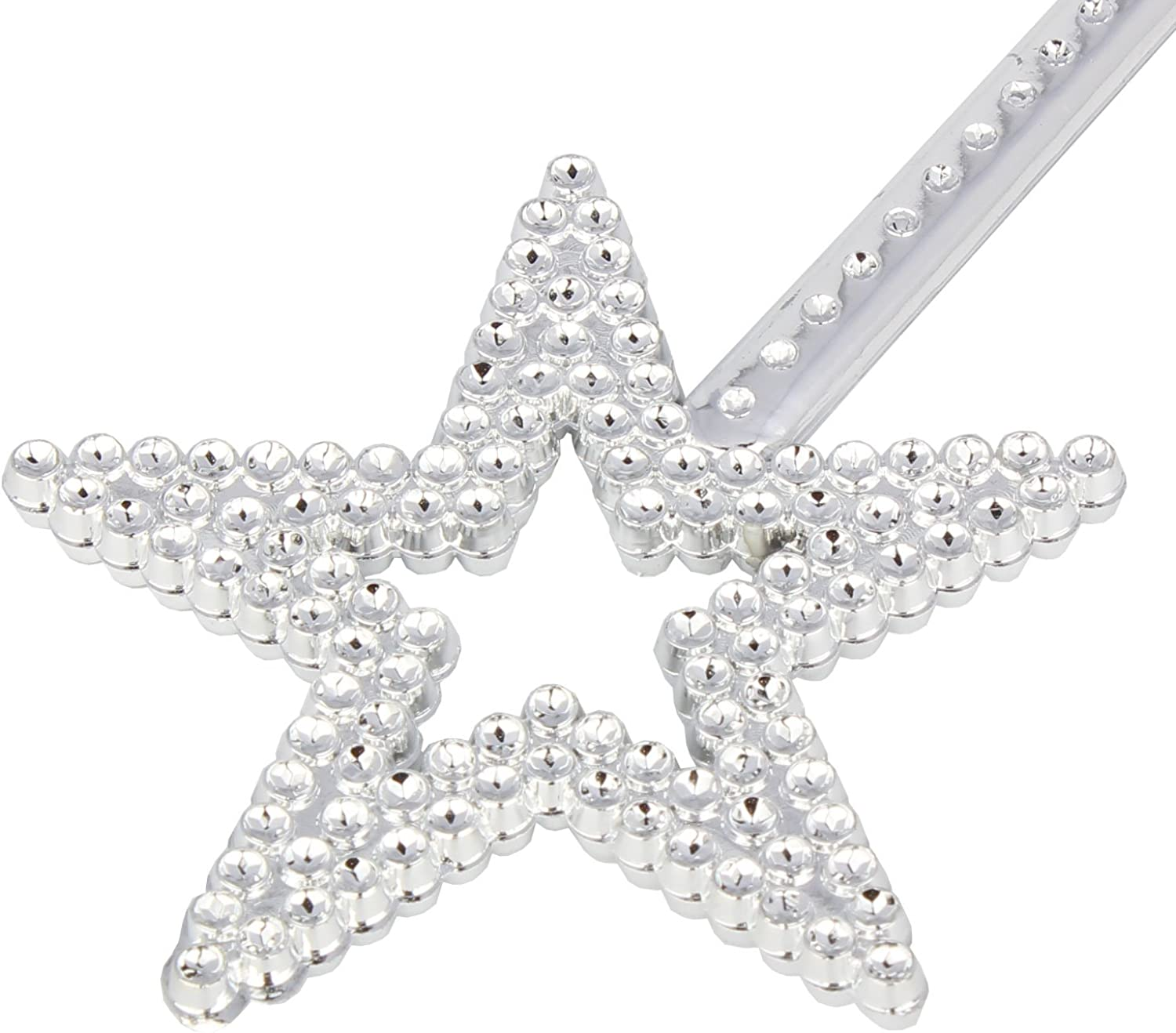 XiangGuanQianYing Sequin Star Wand Handhelds Party Favors 5 Pack