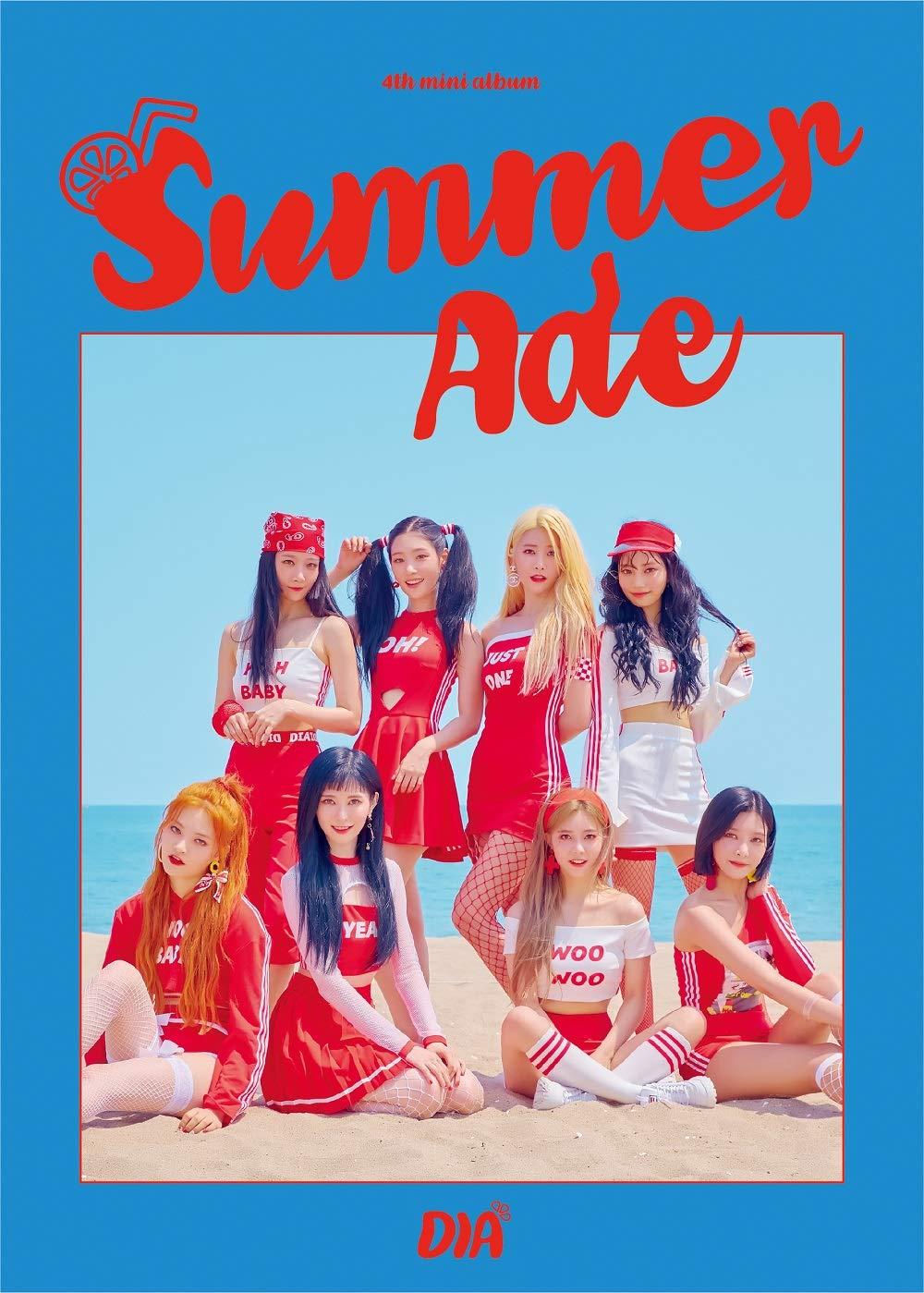 4th Mini Album CD+Booklet+Photocards+Sticker Summer Ade DIA