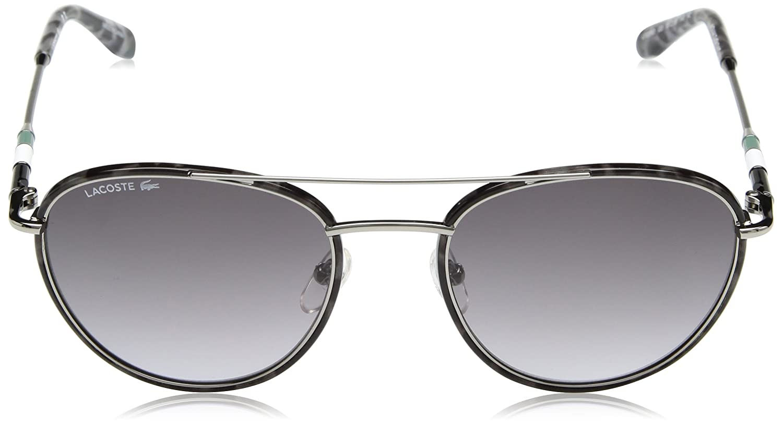 8a67ad834d2 Amazon.com  Lacoste Men s L102snd Metal Oval Novak Djokovic Capsule  Collection Sunglasses