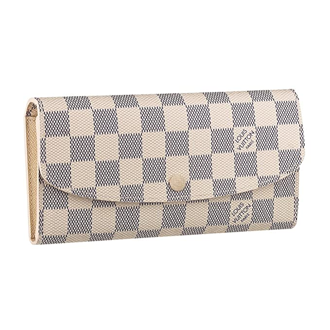 Amazon.com: Louis VUITTON Damier lona Emilie cartera ...