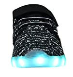 Denater LED Light Up Shoes Kids Girls Boys