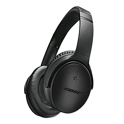 7d8722db365 Amazon.com: Bose QuietComfort 25 Acoustic Noise Cancelling Headphones for  Apple Devices, Triple Black (wired, 3.5mm): Home Audio & Theater