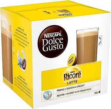 Nescafe Dolce Gusto Ricore Latte 16 Cápsulas Health Personal Care
