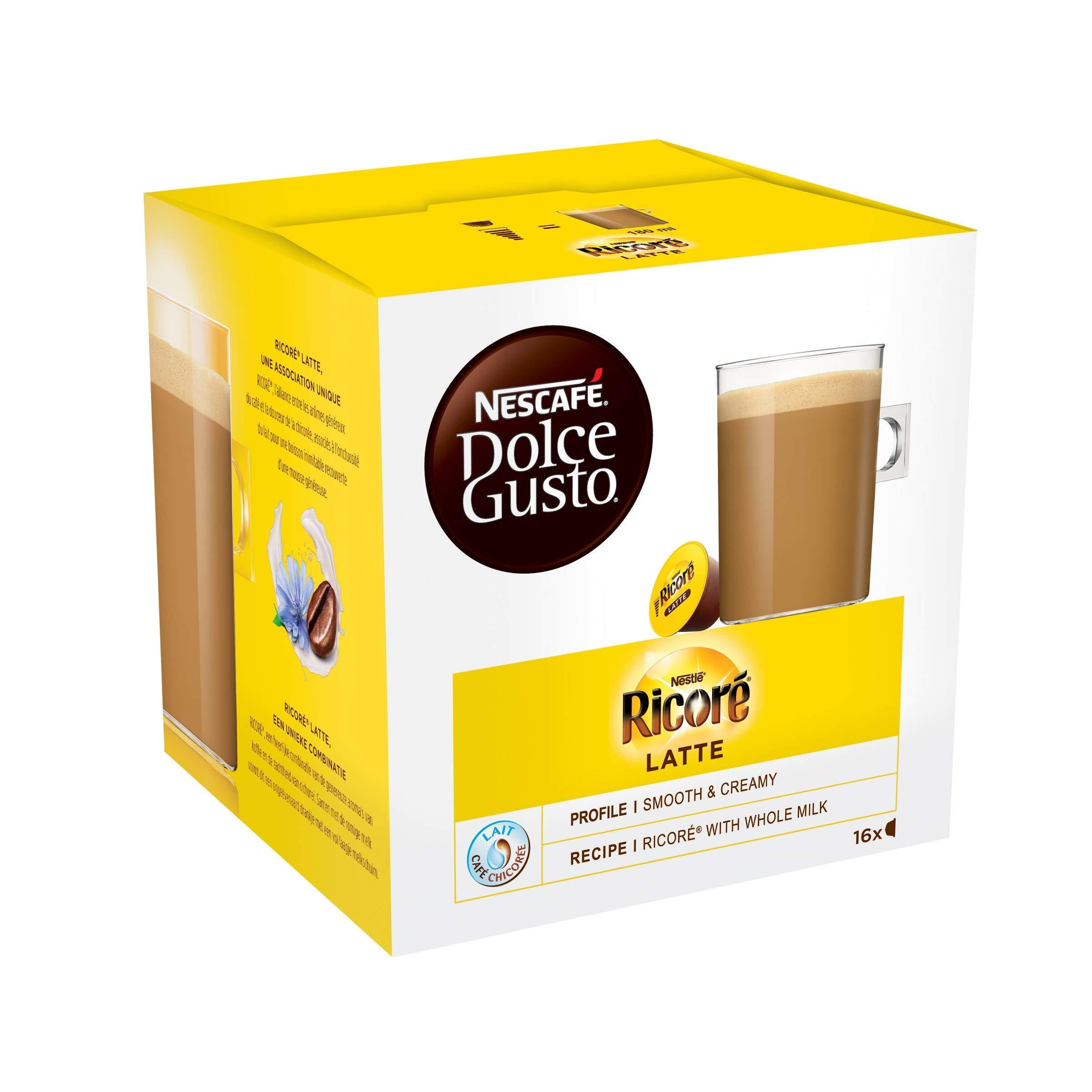 Nescafe Dolce Gusto Ricore Latte - 16 Capsules