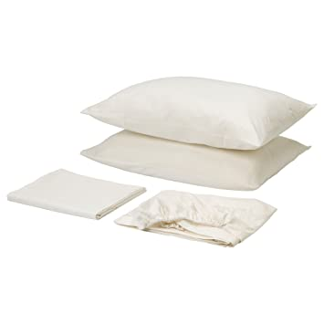 Ikea White Queen Bed ikea white queen bed w 3209619454 queen decorating Ikea Dvala Sheet Set Bright White Queen Gotton