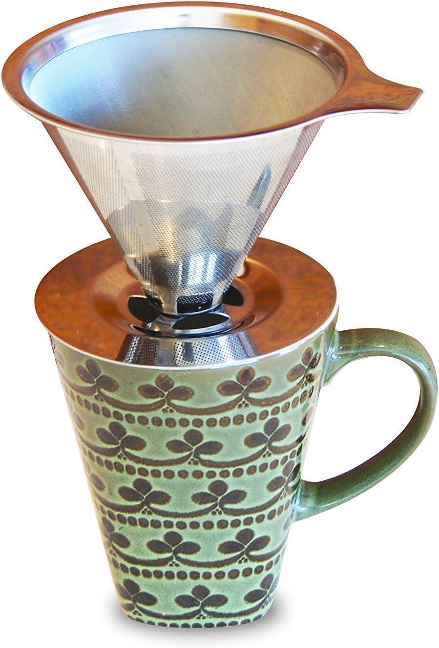 coffenation taza para más de doble filtro cafetera de goteo de ...