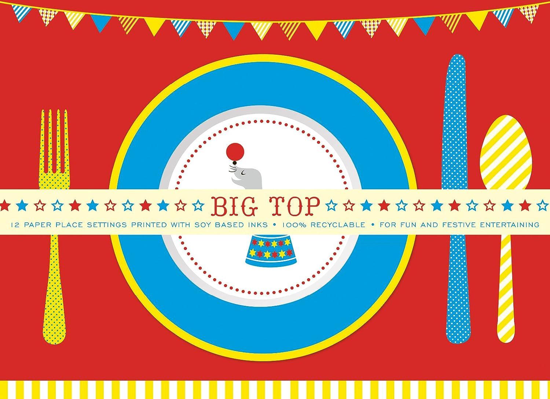 Amazon.com: Party Partners Design Retro Big Top Circus Themed ...